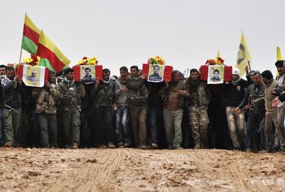 The Kurdish fight against Islamic State