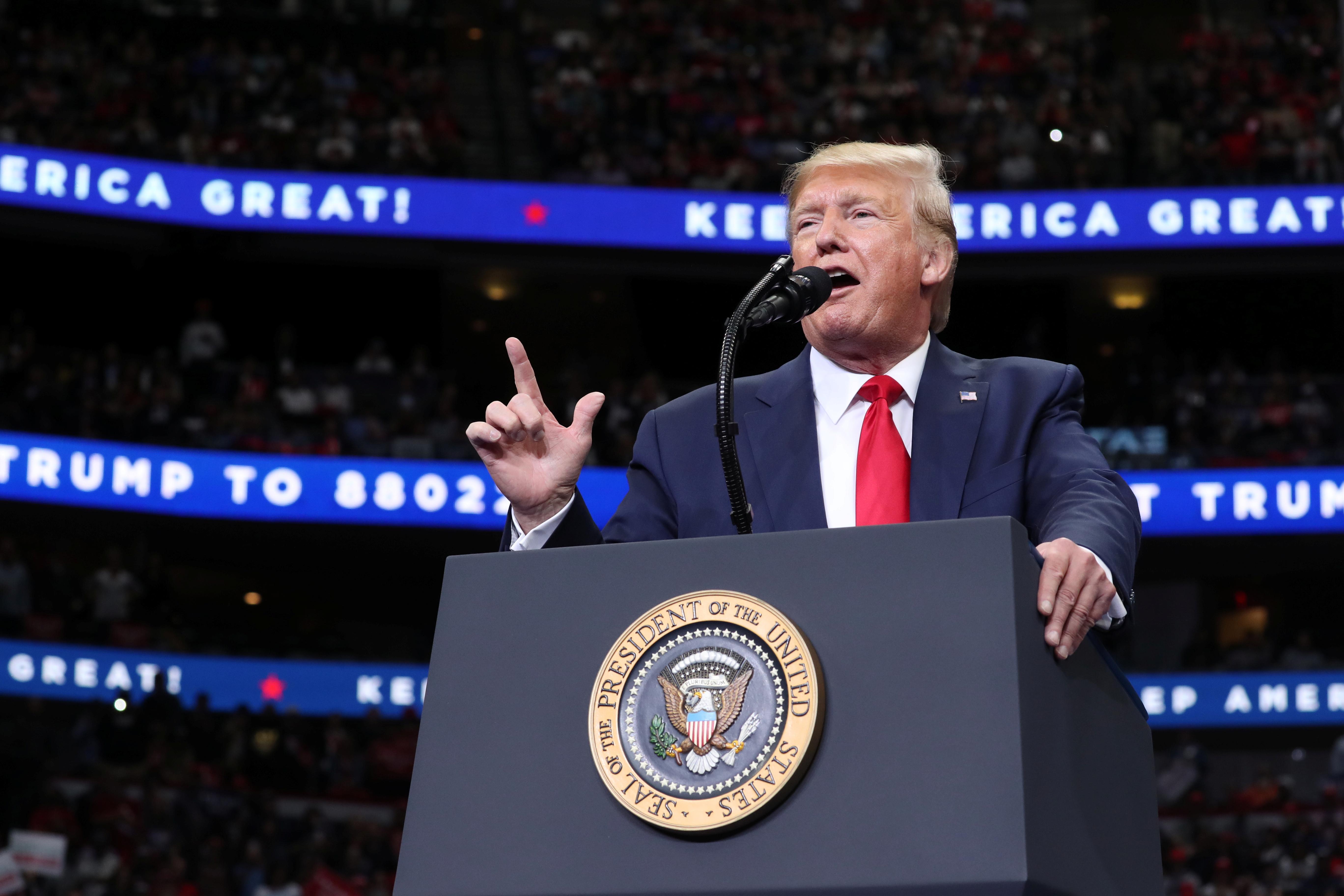 Trump praises U.S.-China trade talks as Beijing seeks billions in...