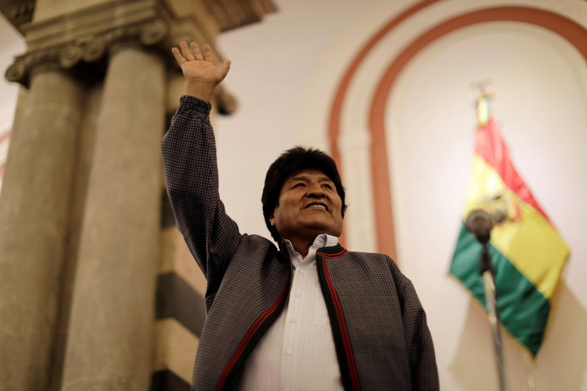 Bolivia election on a knife-edge as rivals clash over results