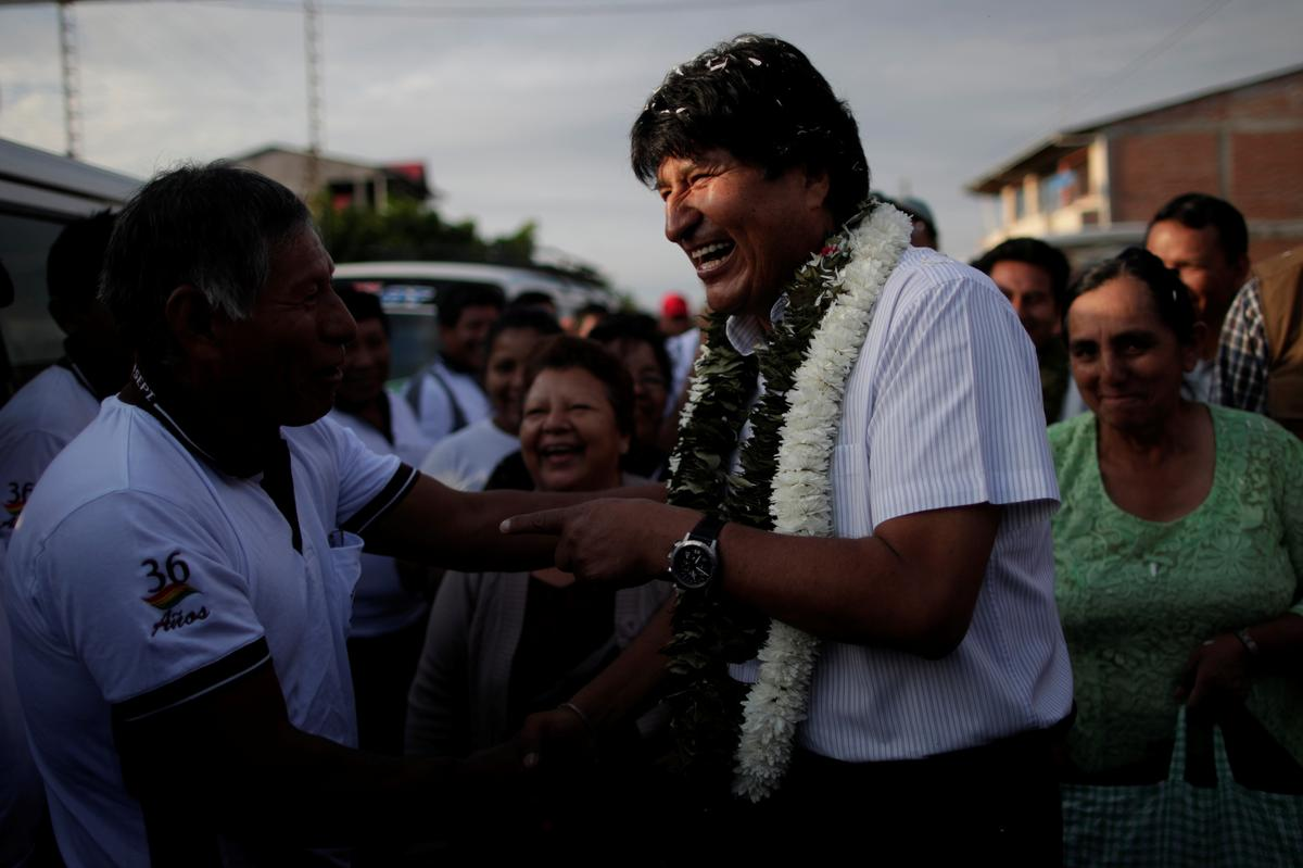 Bolivia's electoral board updates rapid count after outcry, shows Morales further ahead