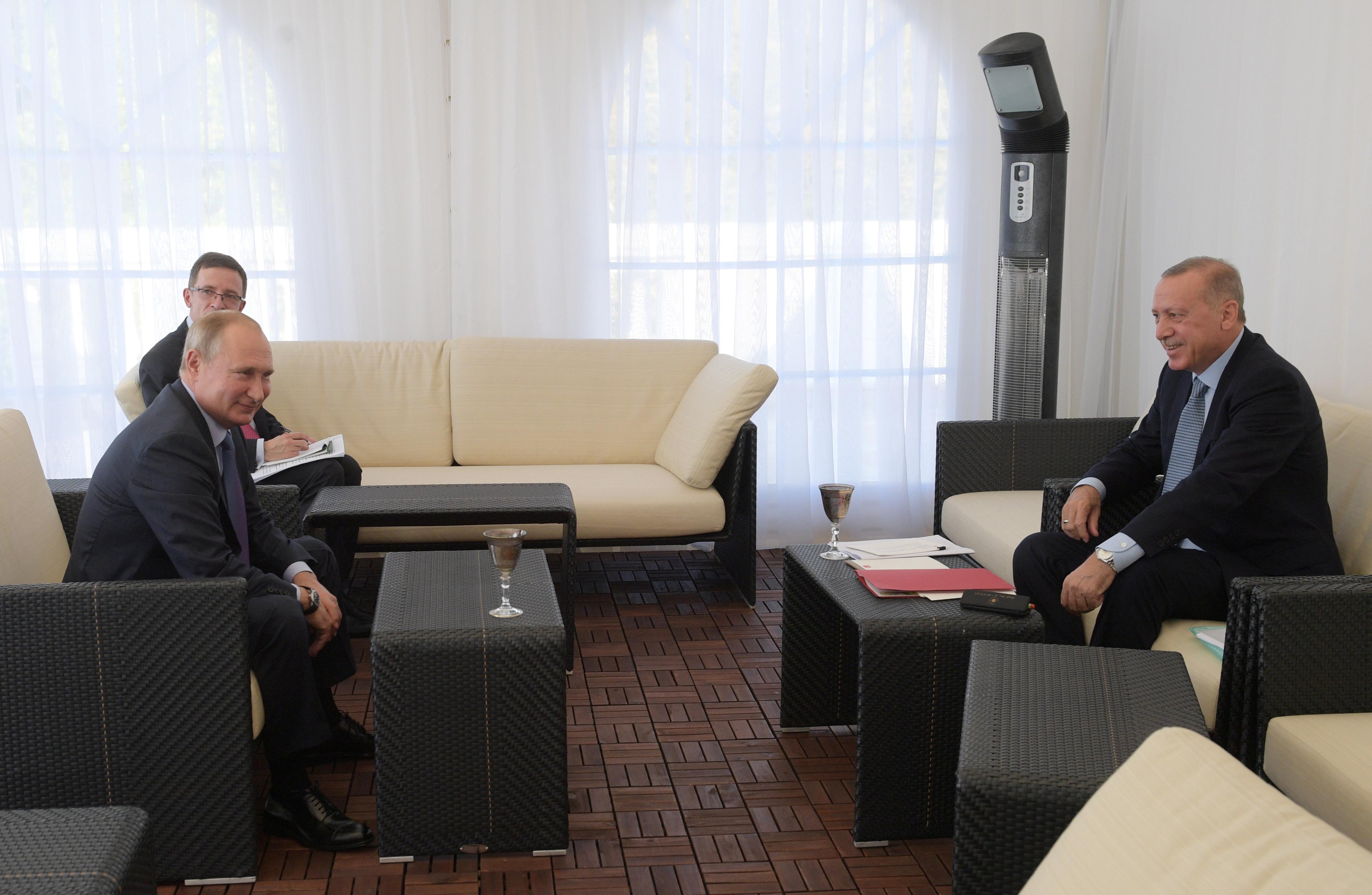 Kremlin says Putin wants more information from Erdogan about...