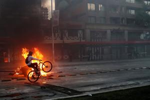 Autumn of discontent: Protests around the world