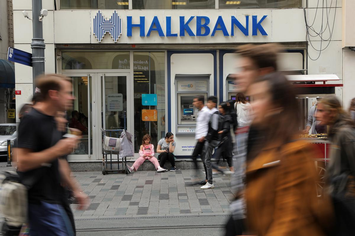 Turkey's Halkbank could face fine for failing to appear in U.S....