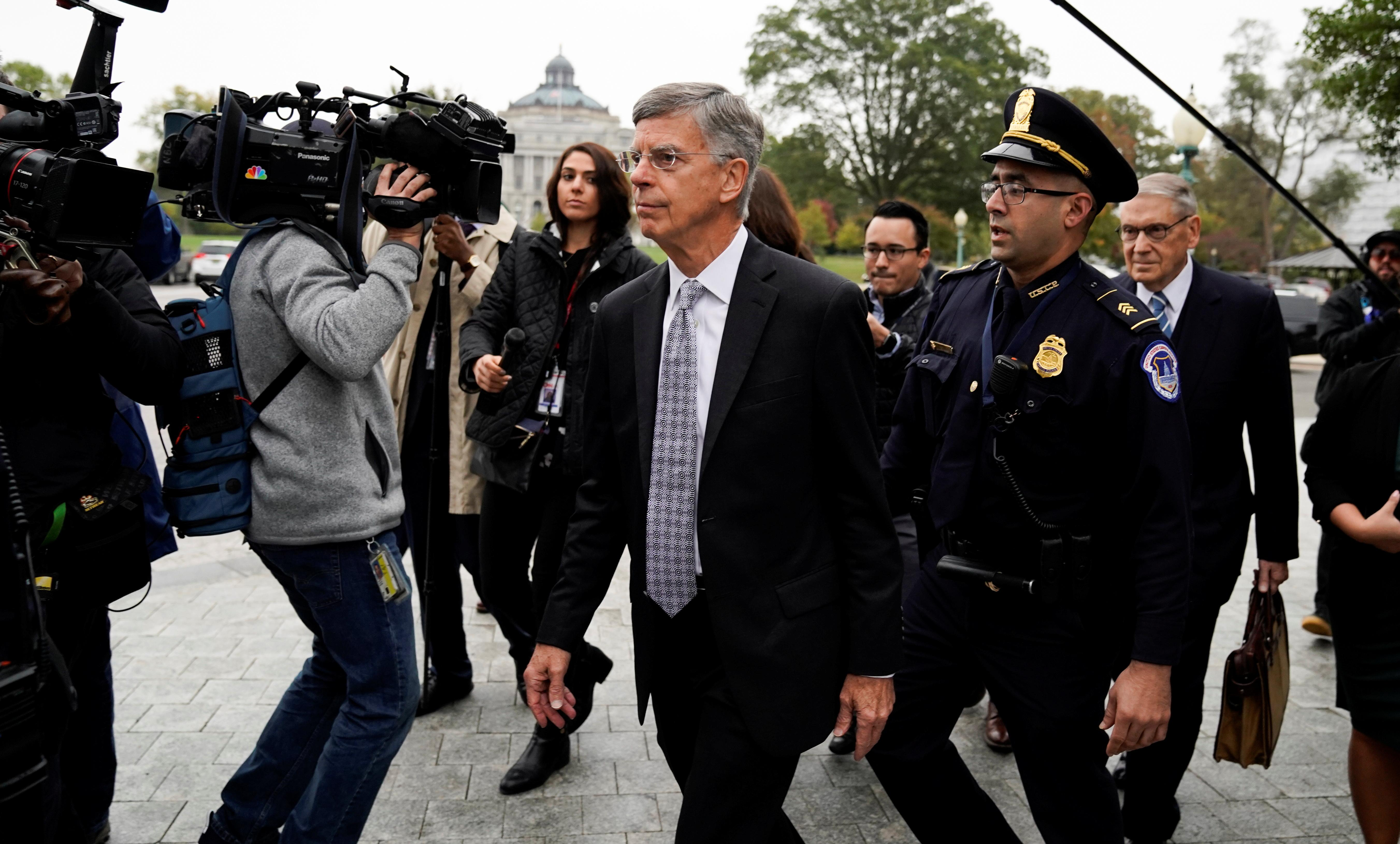 Pivotal witness testifies in impeachment probe; lawmakers denounce...