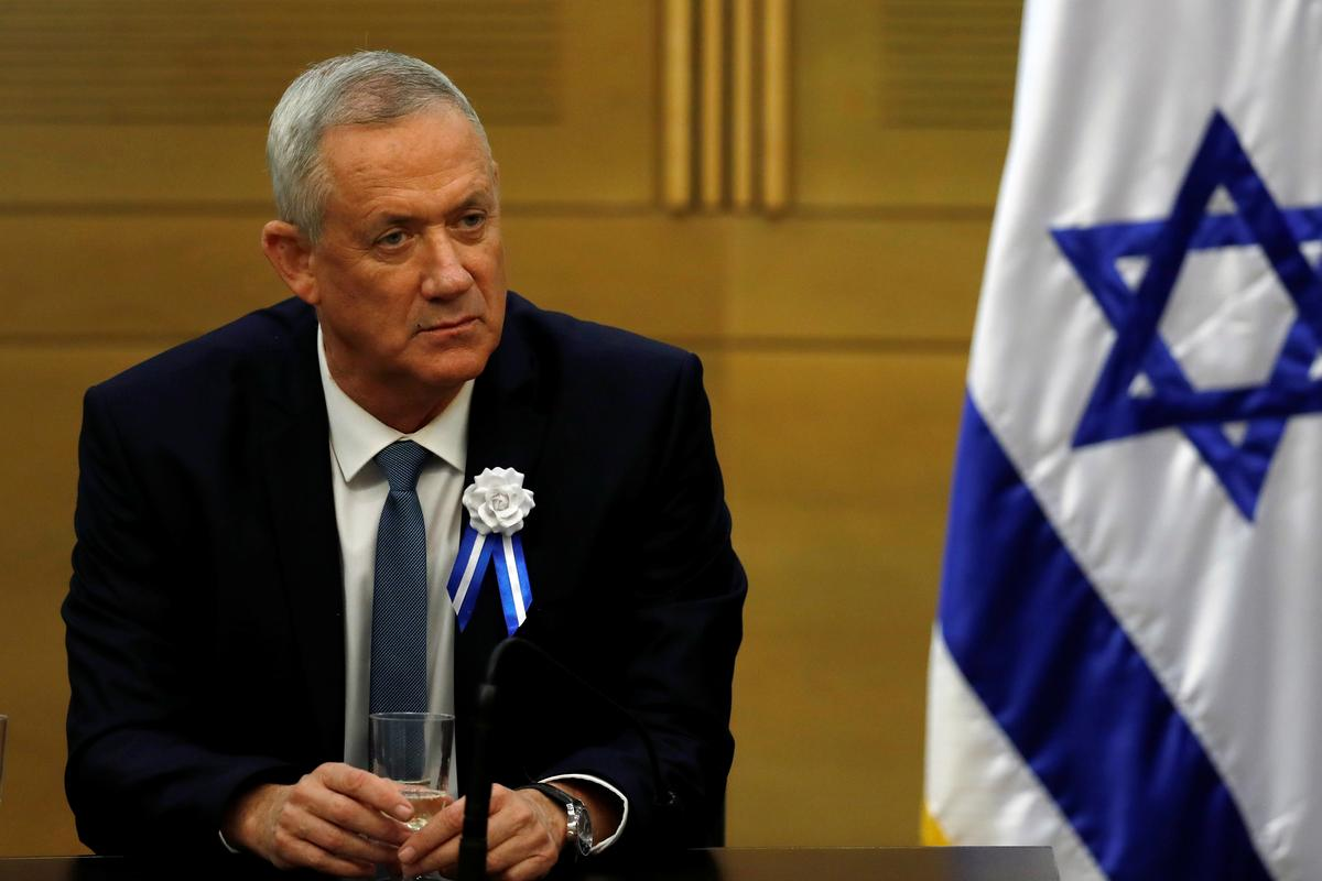 Netanyahu rival Gantz to be named Wednesday to try to form Israeli government