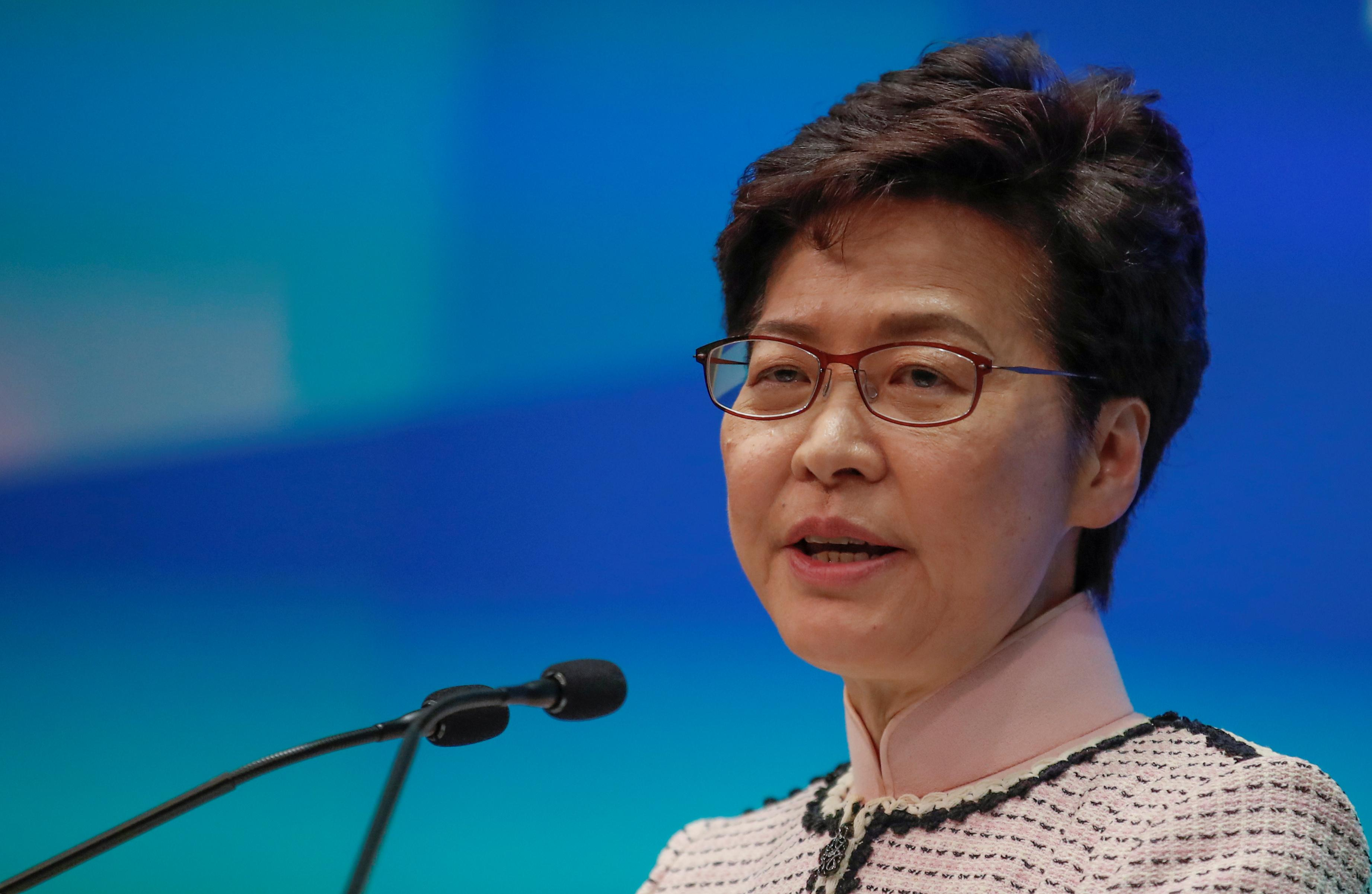 China plans to replace Hong Kong leader Lam with 'interim' chief...