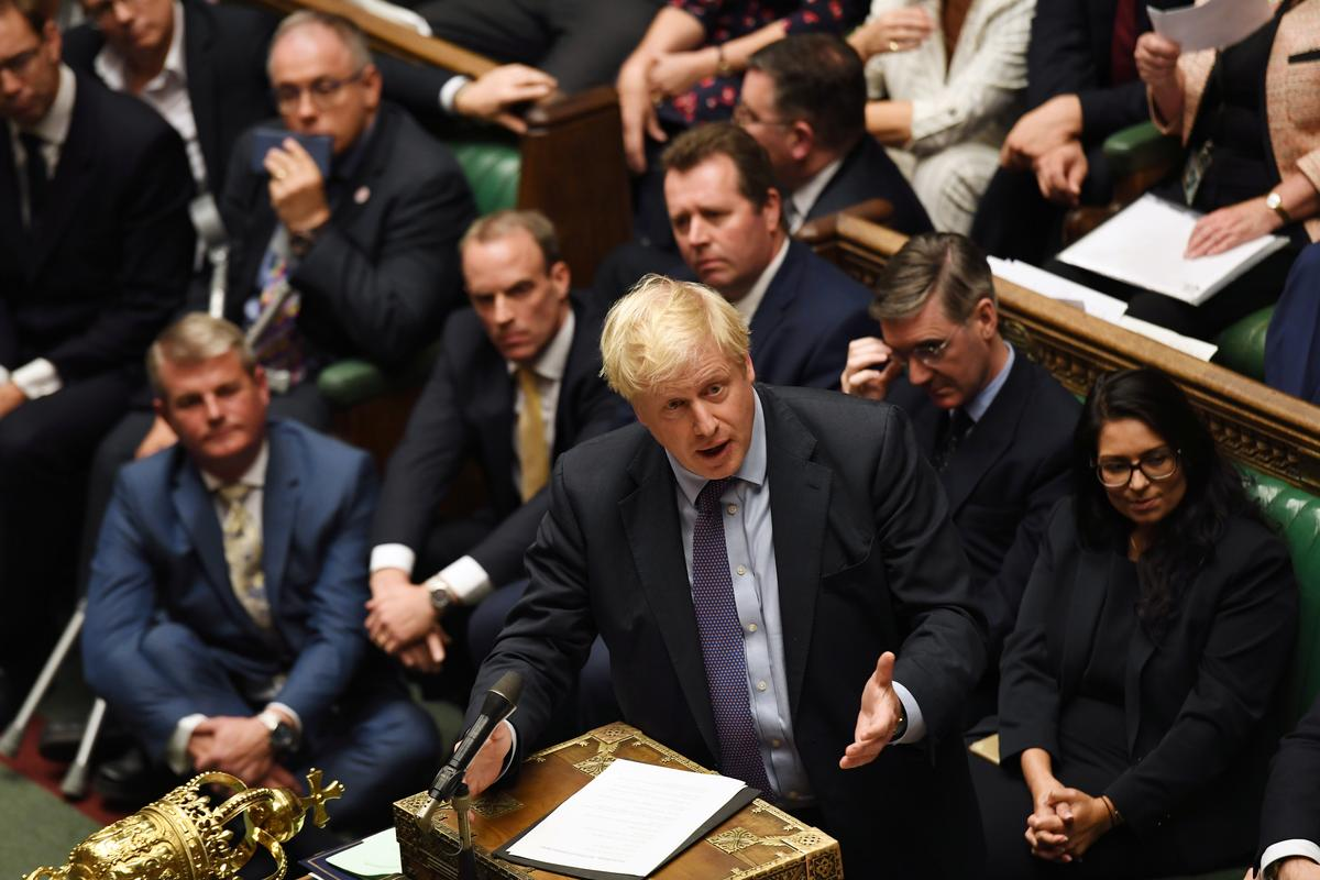 EU considers Brexit delay; Johnson says that would lead to election