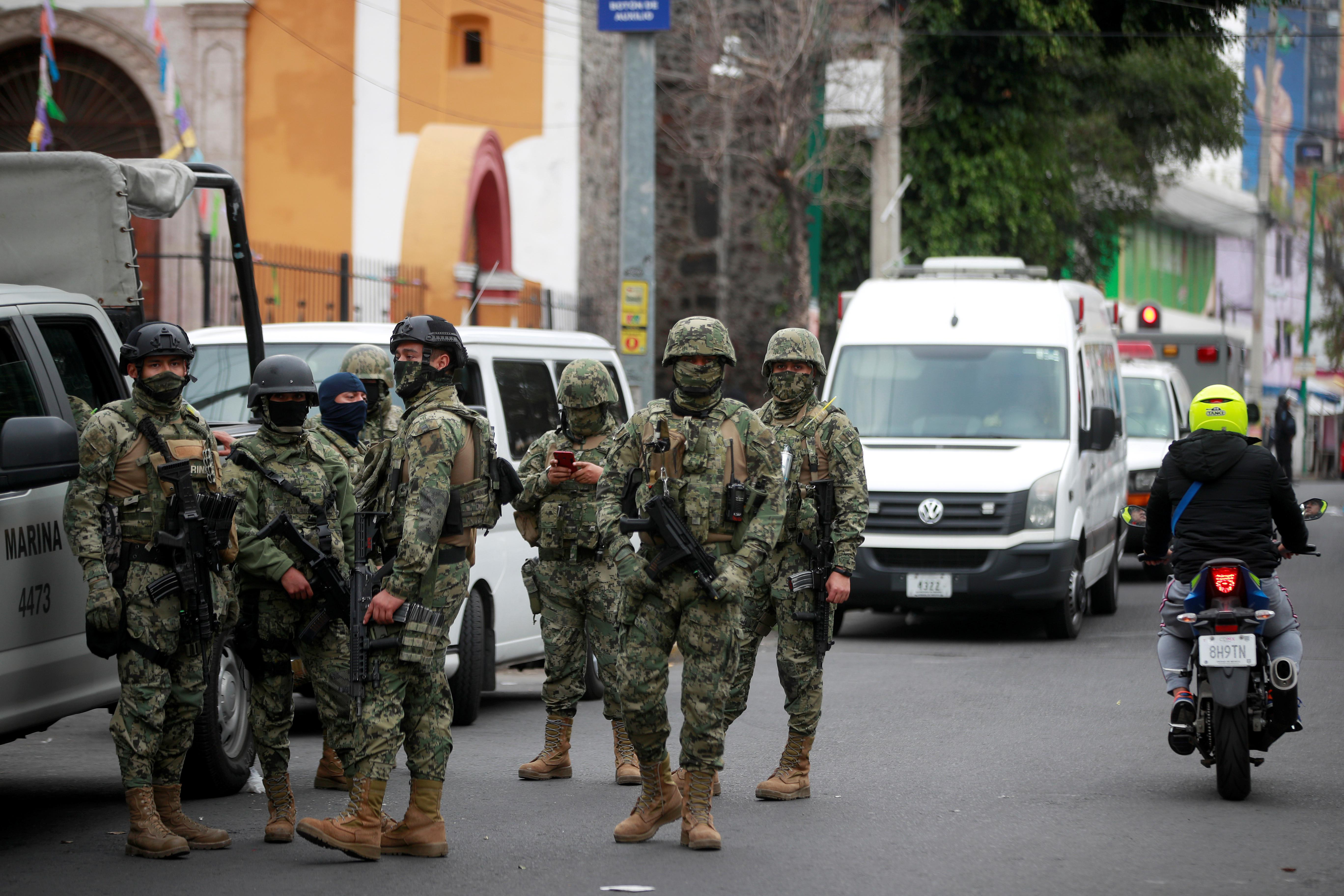 Security forces arrest 31 cartel suspects in raid on Mexico City...