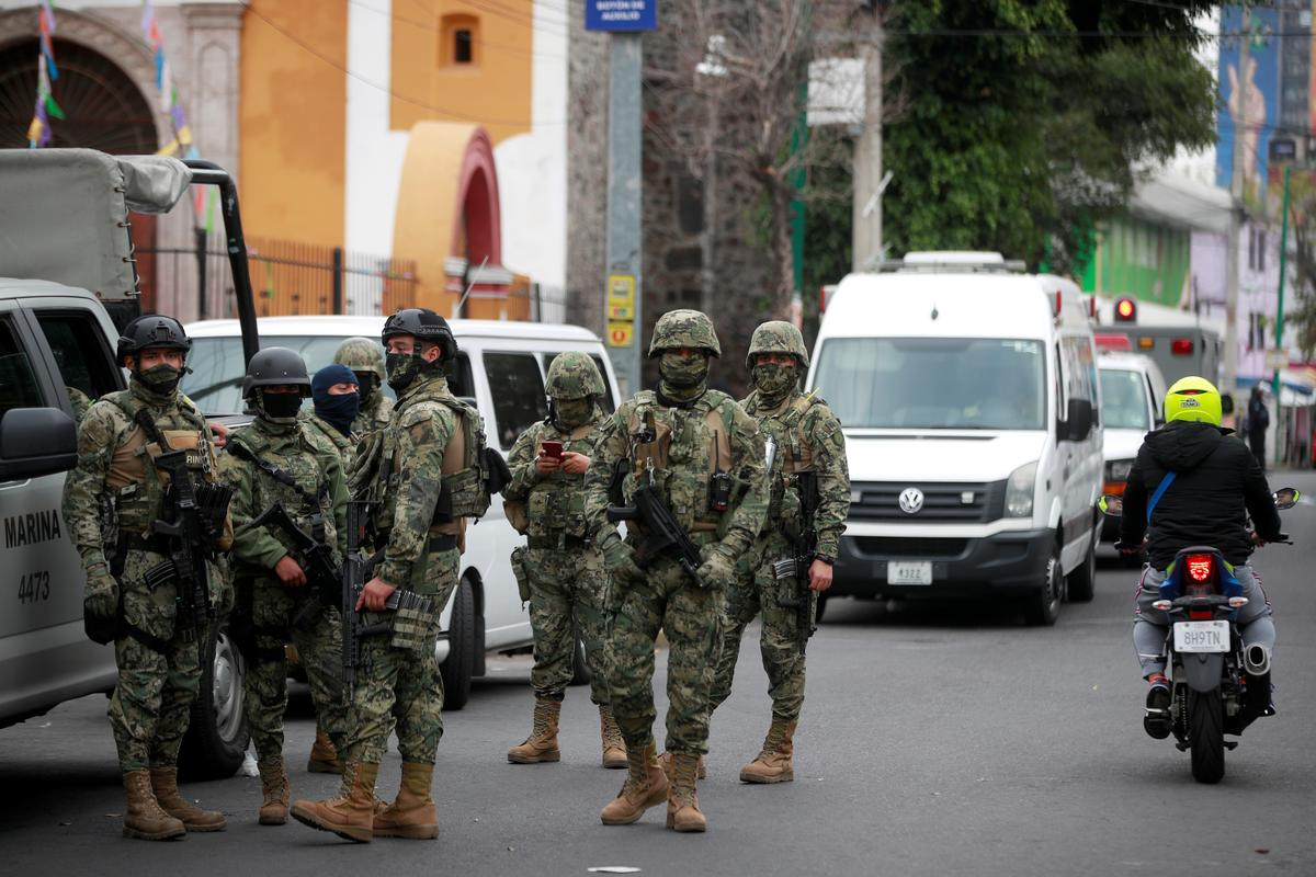 Security forces arrest 31 cartel suspects in raid on Mexico City drug labs -authorities