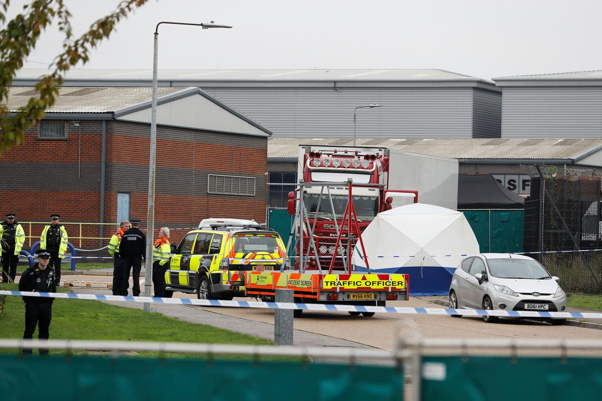 British police call truck deaths an 'absolute tragedy'