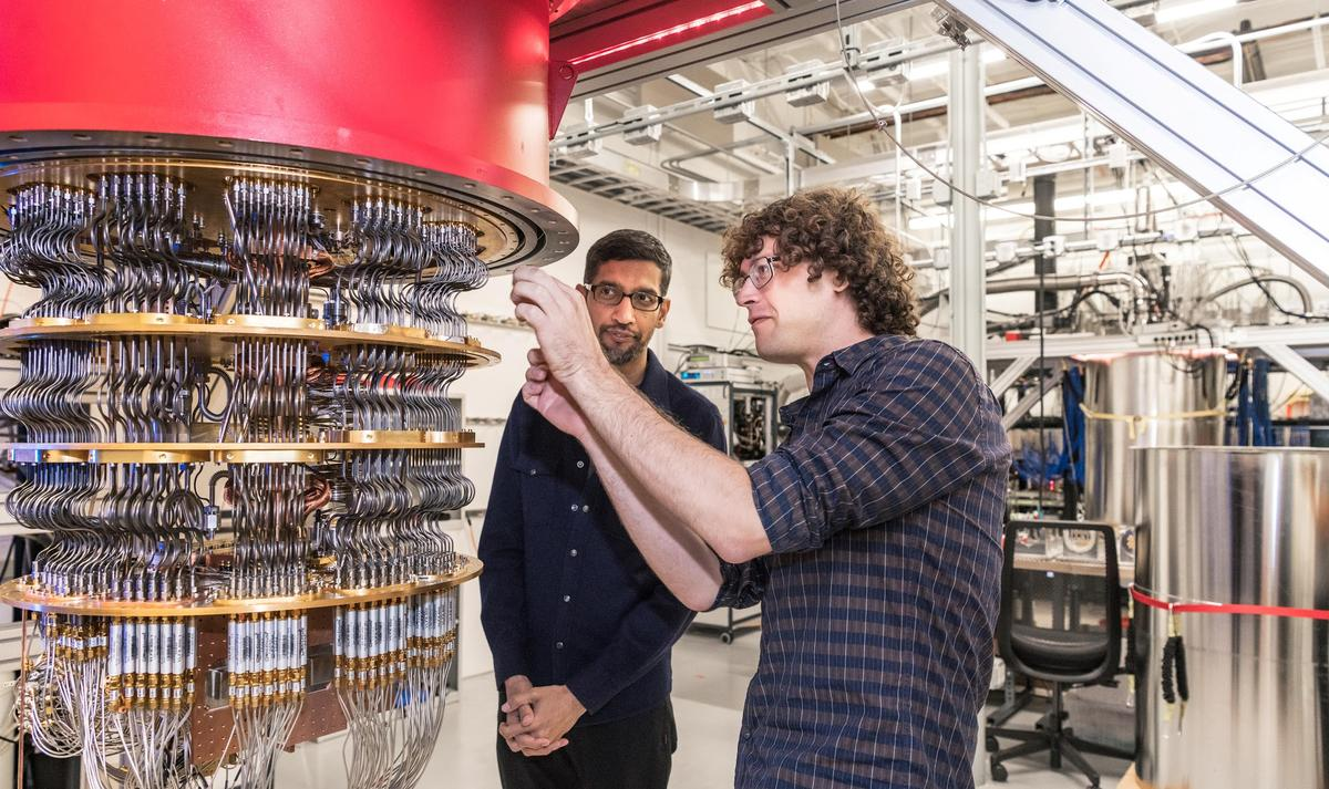 Google unveils quantum computer breakthrough; critics say wait a qubit