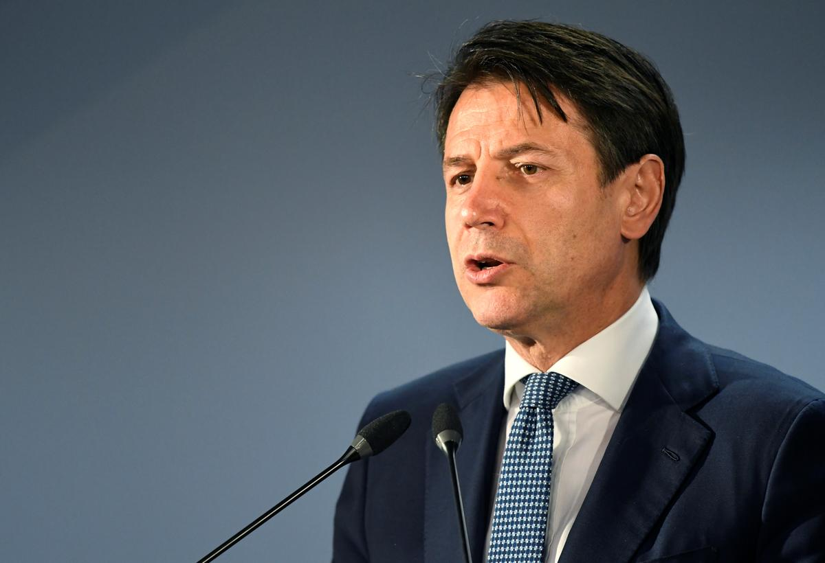 Italy PM says Barr's meetings with Rome intelligence were legitimate