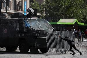 Chile in state of emergency as protests rage