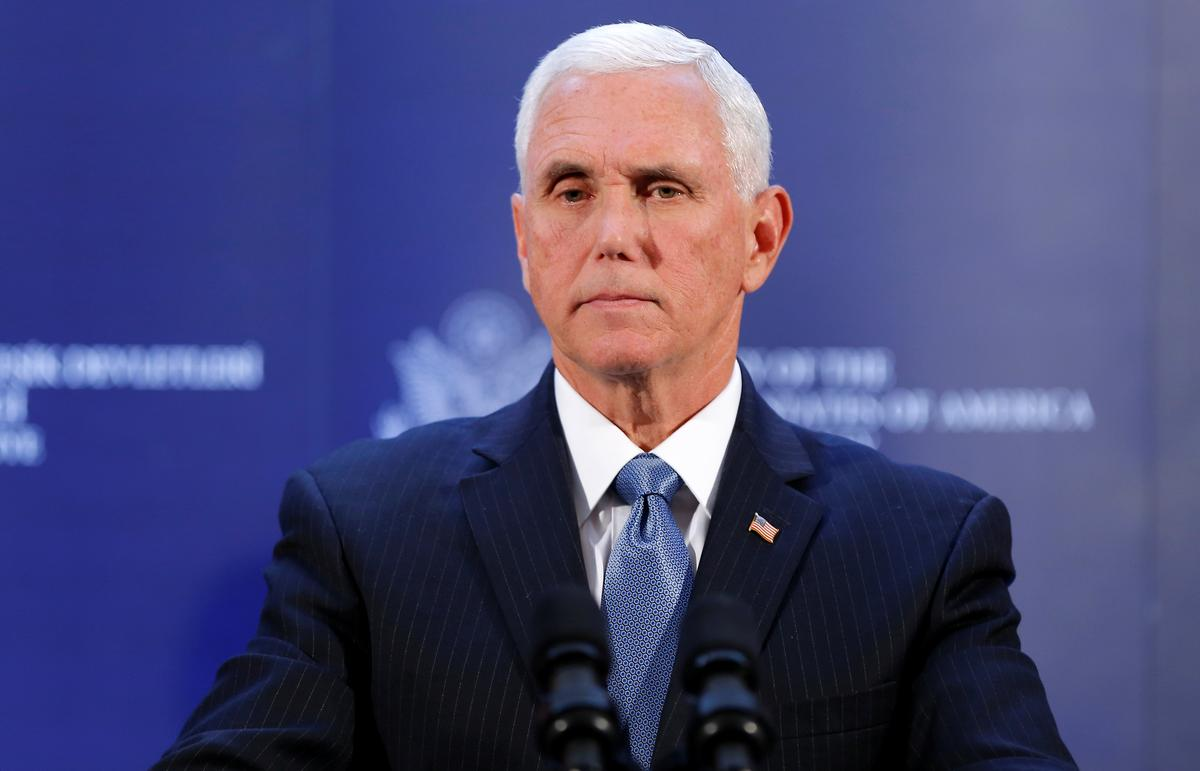 Pence backs Hong Kong protests in China speech, slams NBA and Nike