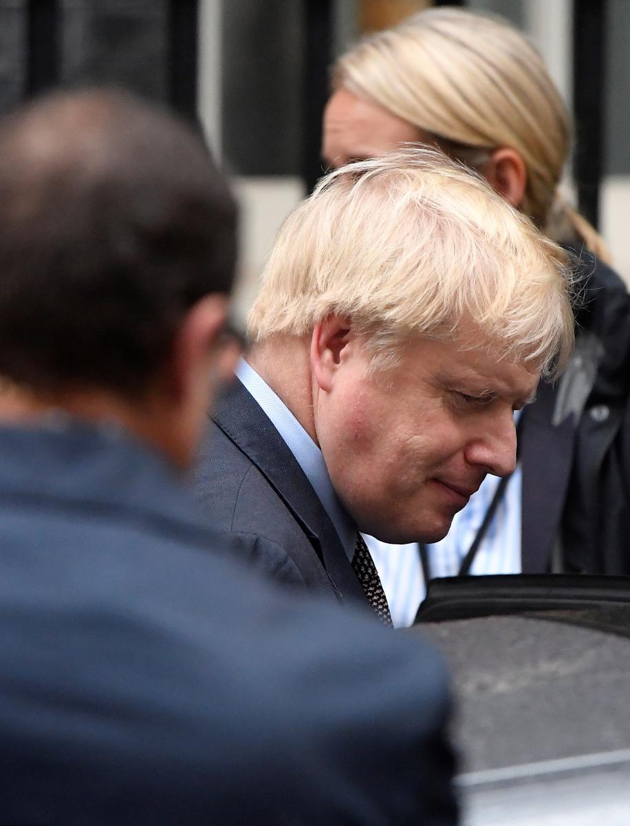 UK PM Johnson passes government's legislative agenda