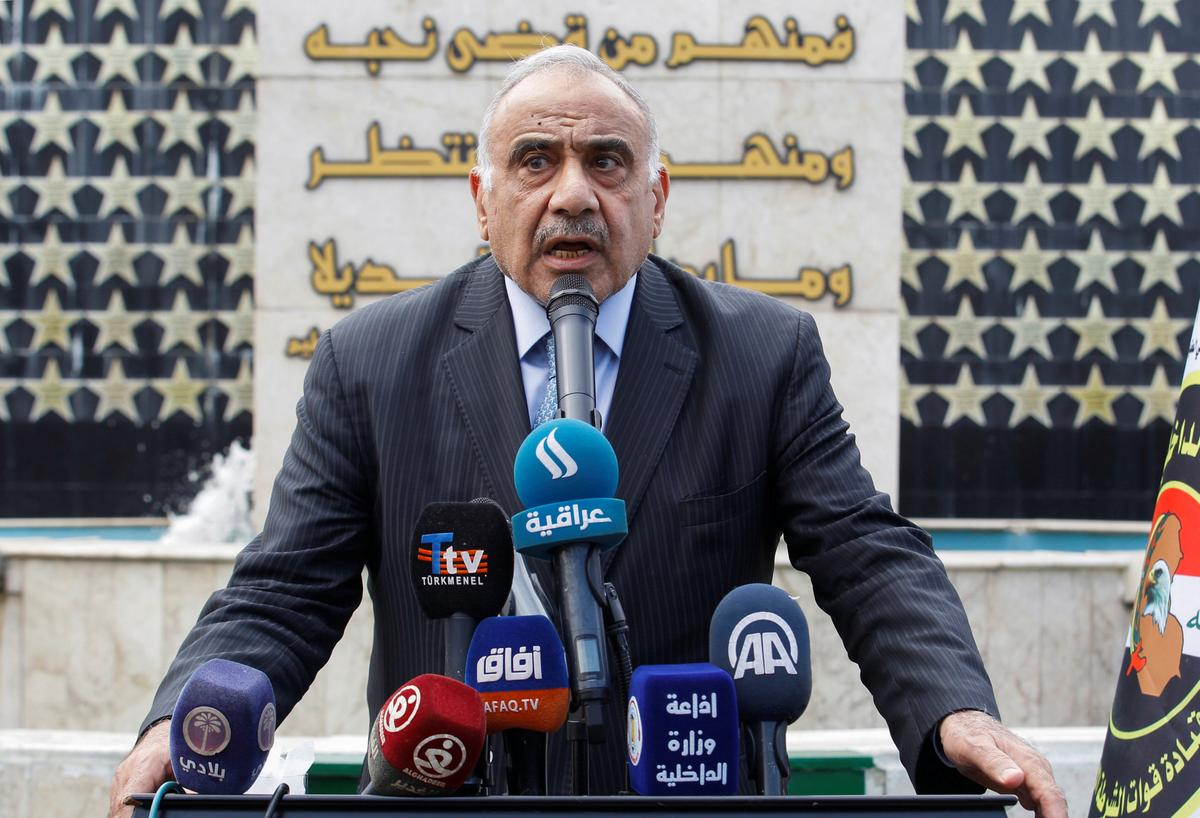 Iraqi PM warns against violence on eve on planned anti-government protests