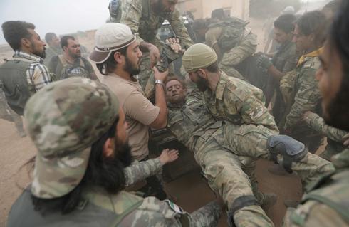 Turkey attacks Kurds in northeast Syria
