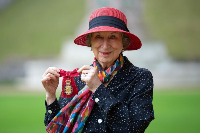'Emotional' author Atwood honored at Windsor Castle