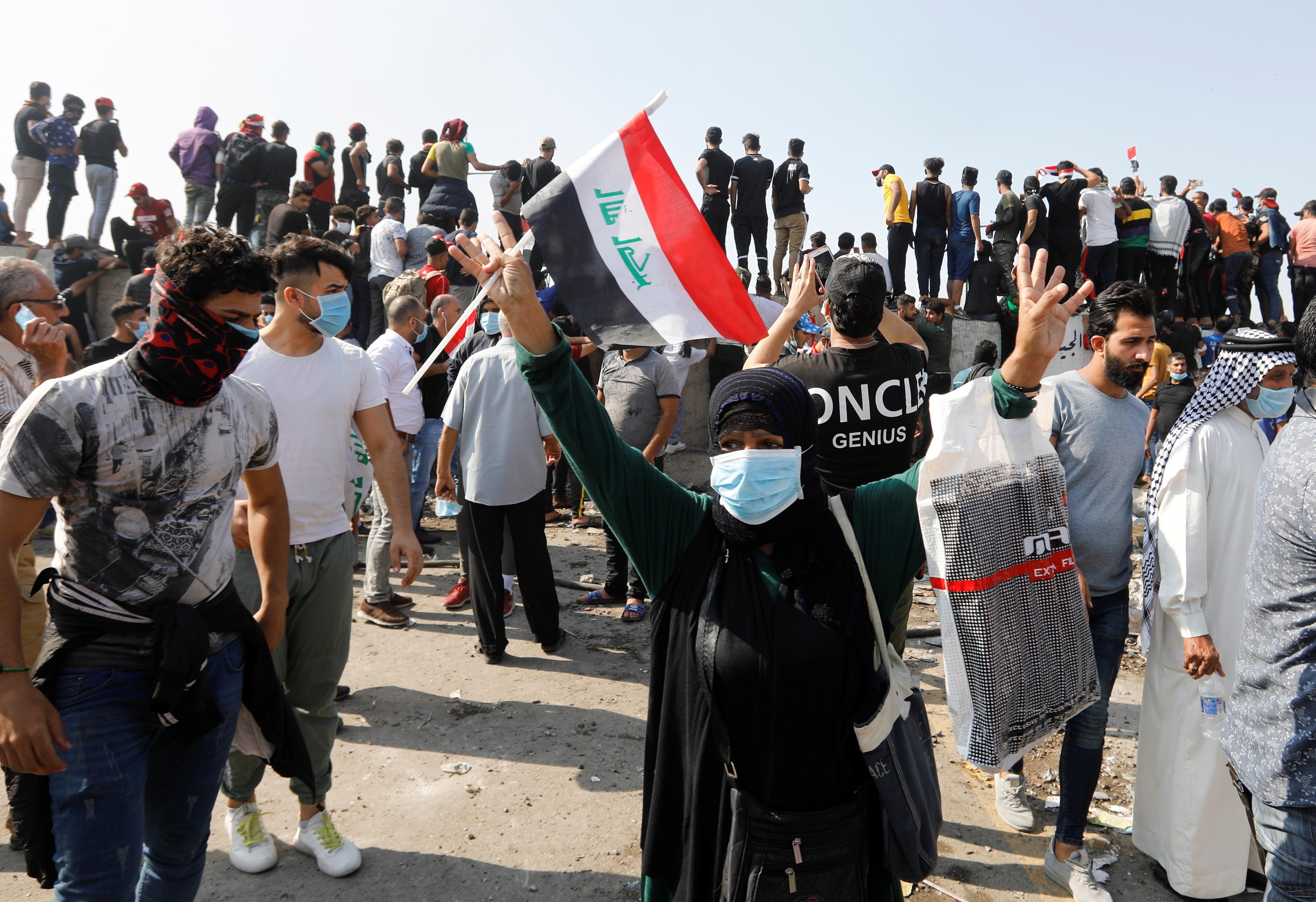 Deux morts et 26 blessés lors de nouvelles manifestations en Irak