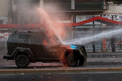 Chile protests flare up as reforms fall short