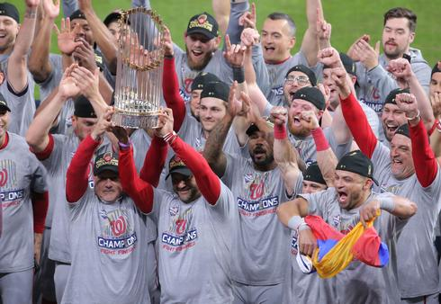 Washington Nationals win World Series