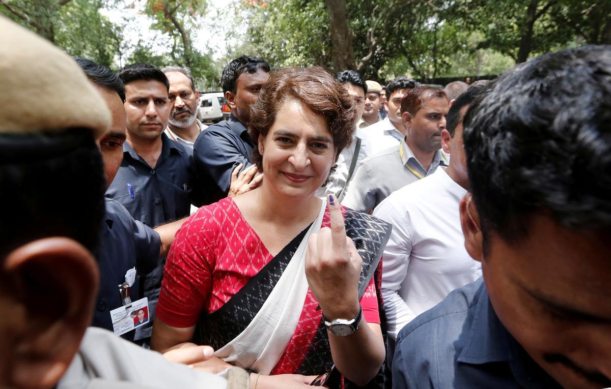 India's Congress party says Priyanka Gandhi Vadra hit by WhatsApp privacy breach