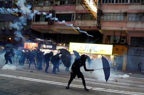 Chaotic weekend of Hong Kong protests