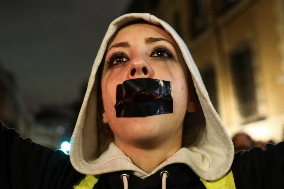 'It's not abuse, it's rape': protesters denounce Spanish assault ruling