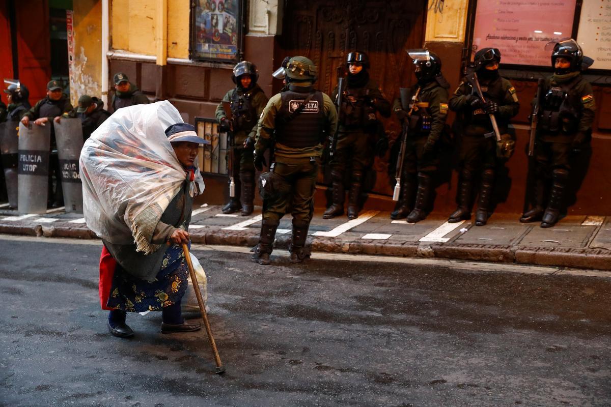 Bolivian opposition leader calls for 'radical' strike action, blockades