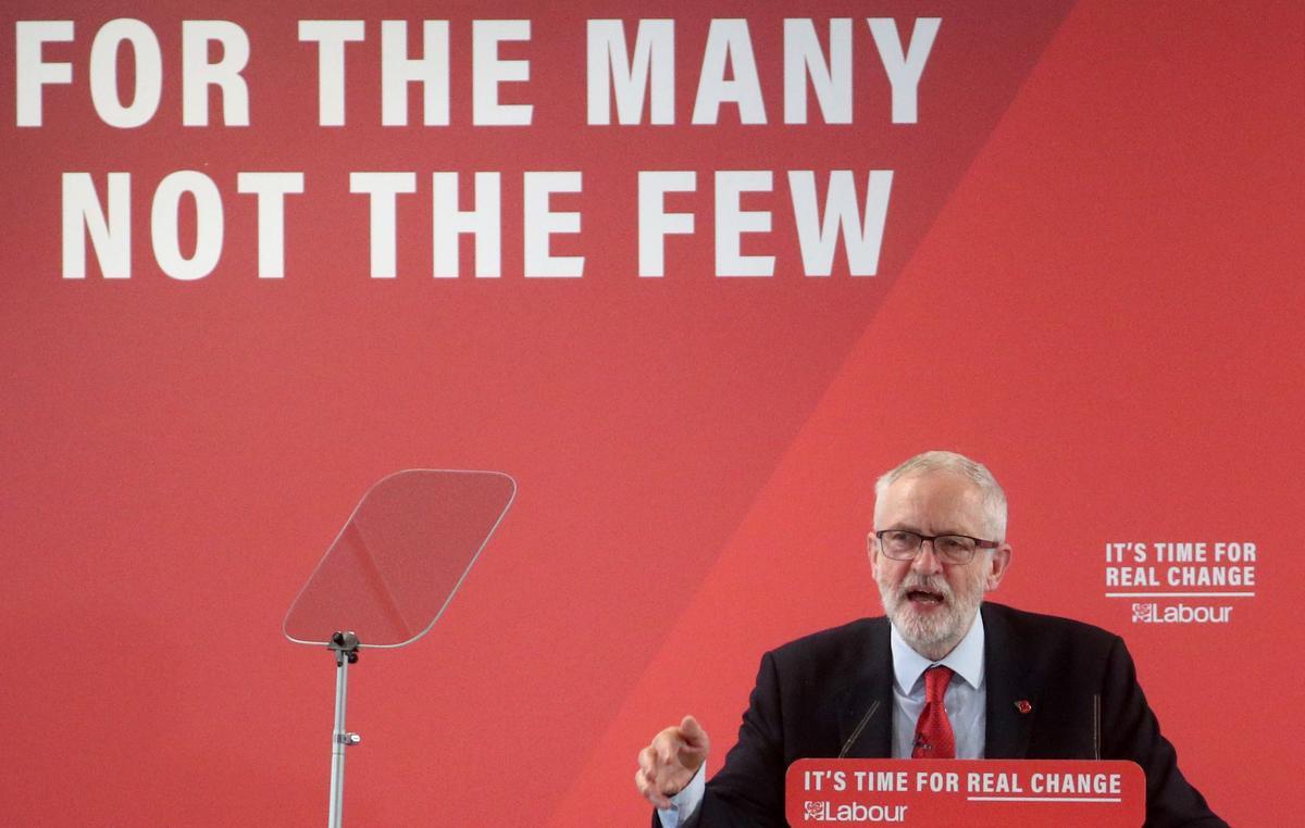 Labour's Corbyn brands UK PM Johnson's Brexit plans 'Thatcherism on steroids'