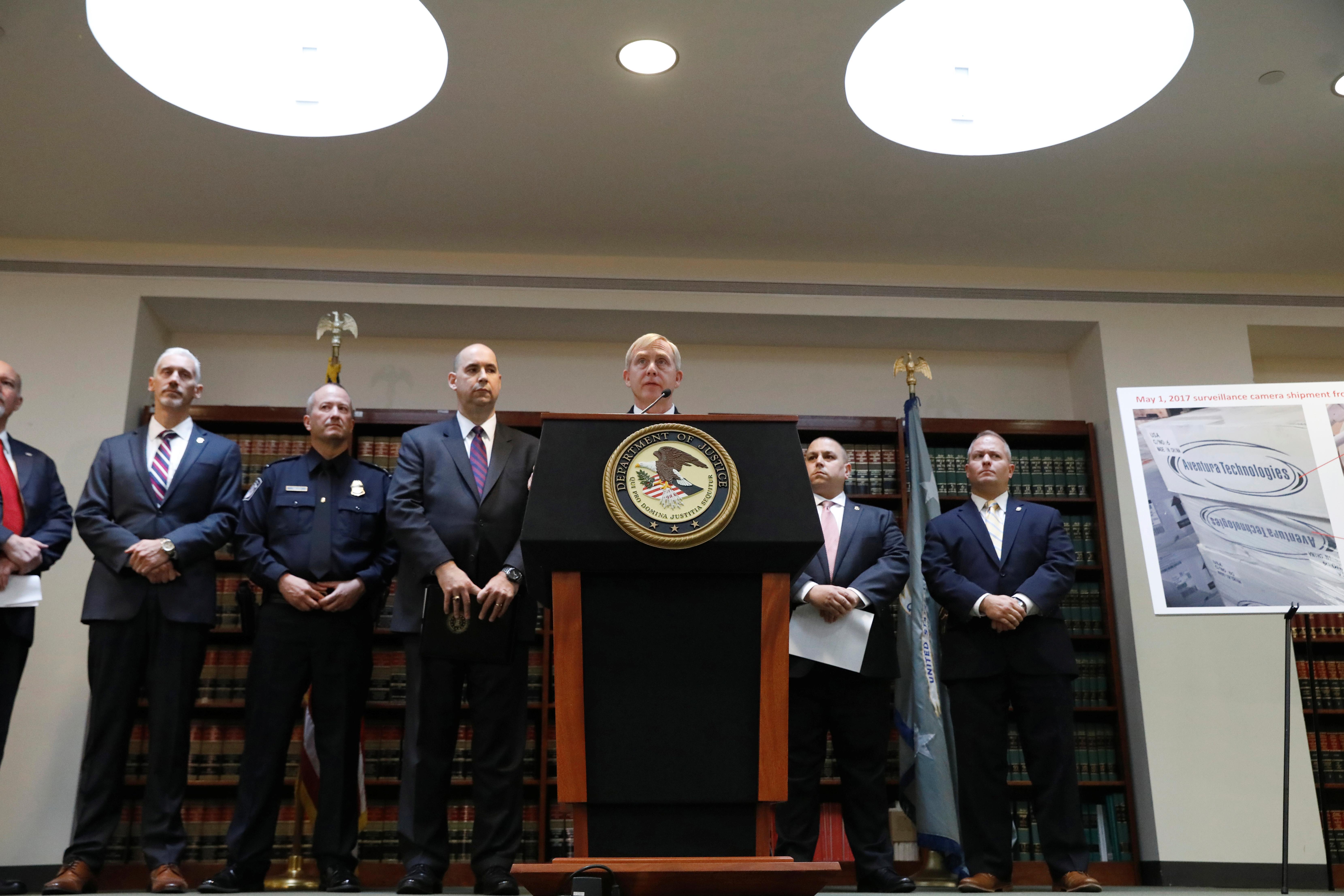 Les Etats-Unis accusent une société new-yorkaise de vente illégale d'équipements chinois