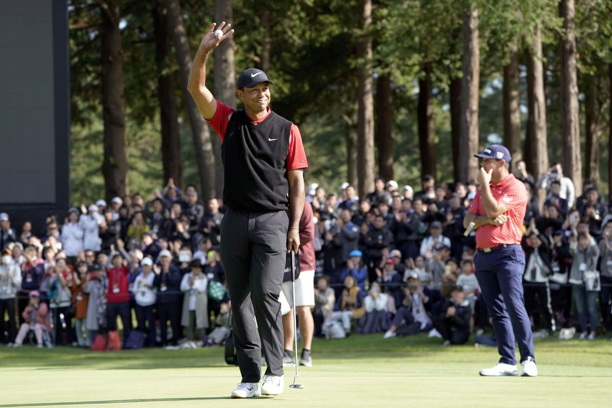 Golf-No exhausting feelings: Captain Woods plumps for 'Captain The United States' thumbnail