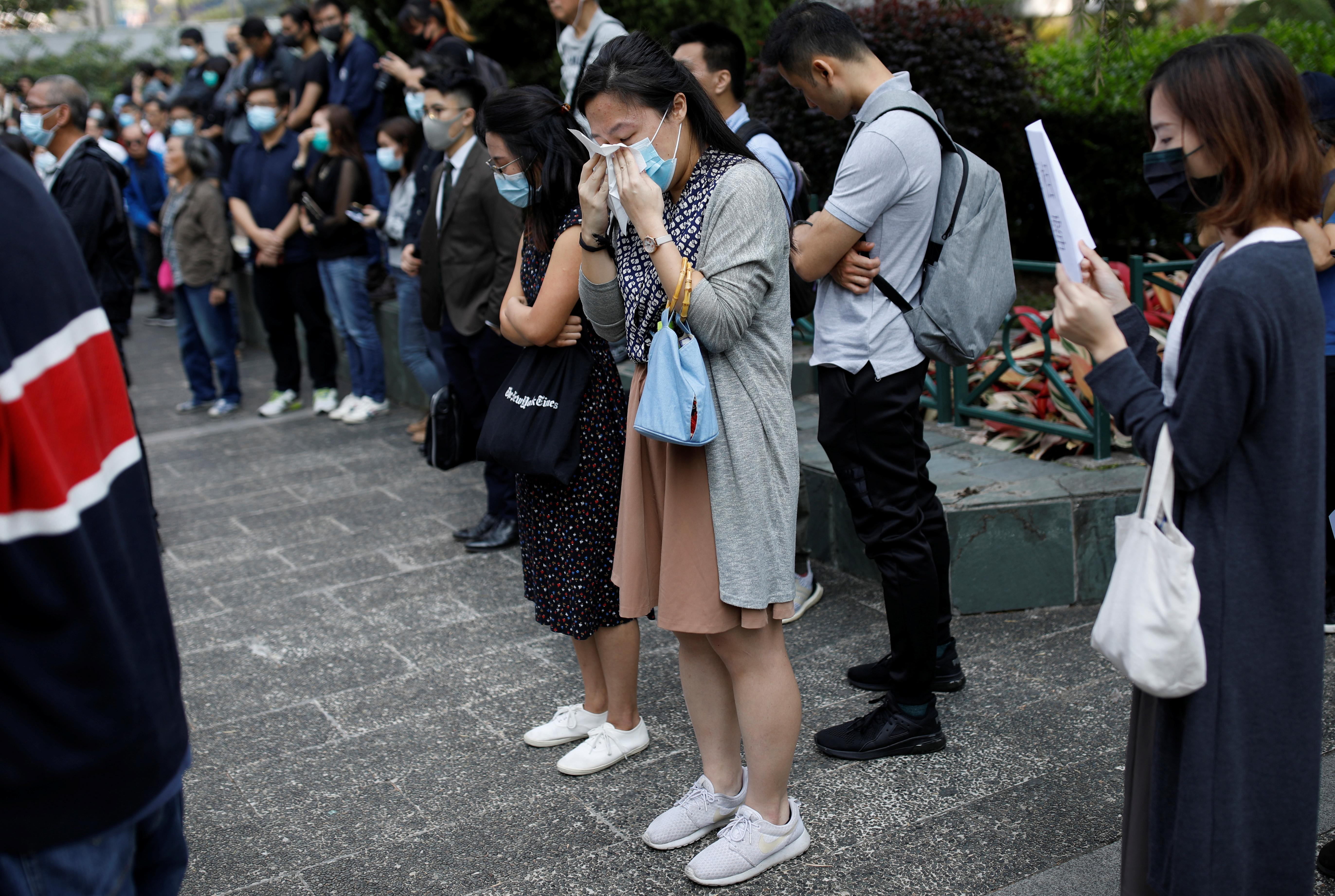 Death of Hong Kong student likely to add fuel to unrest