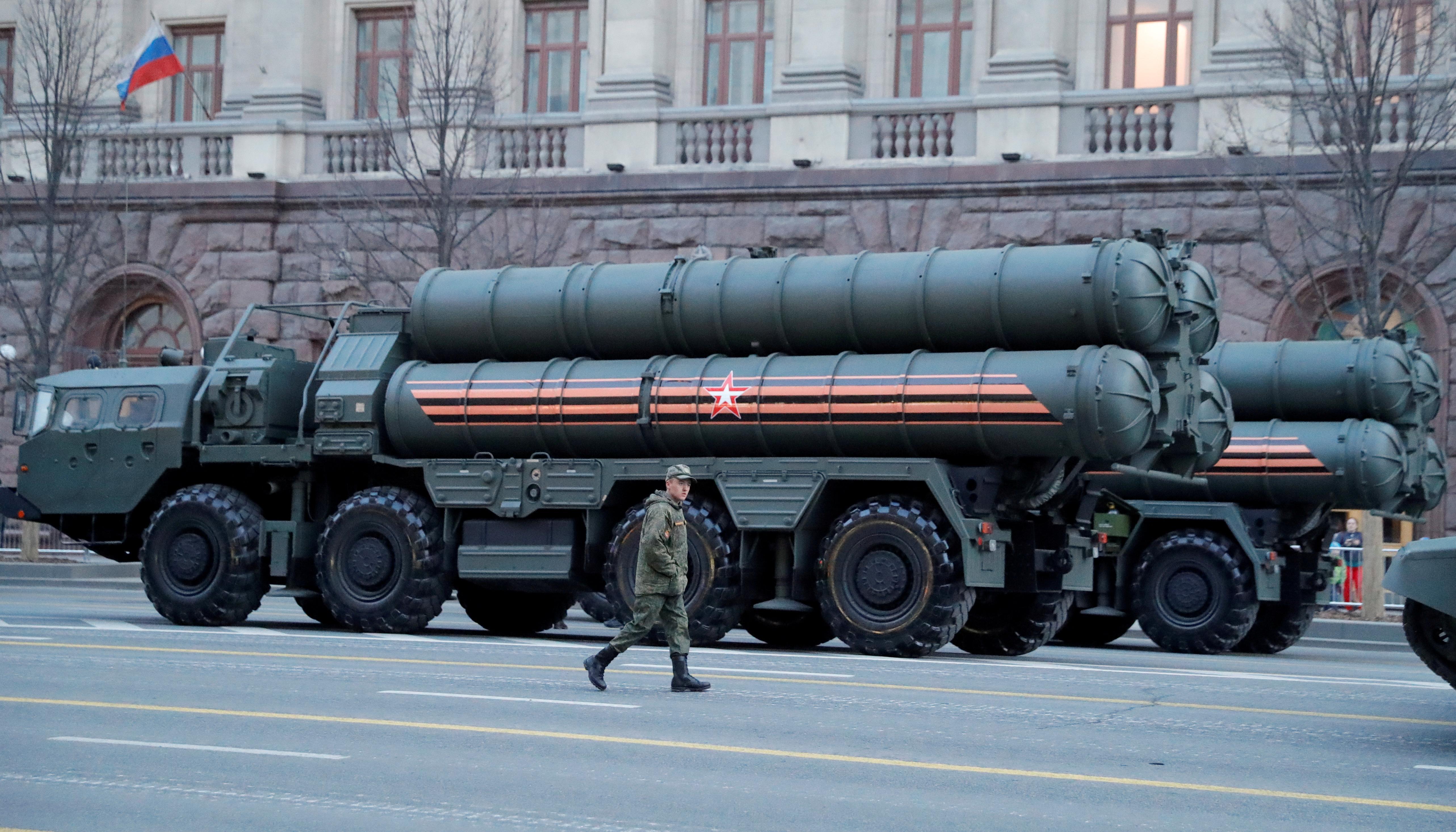 Turkey should scrap Russian missile system or face U.S. sanctions:...