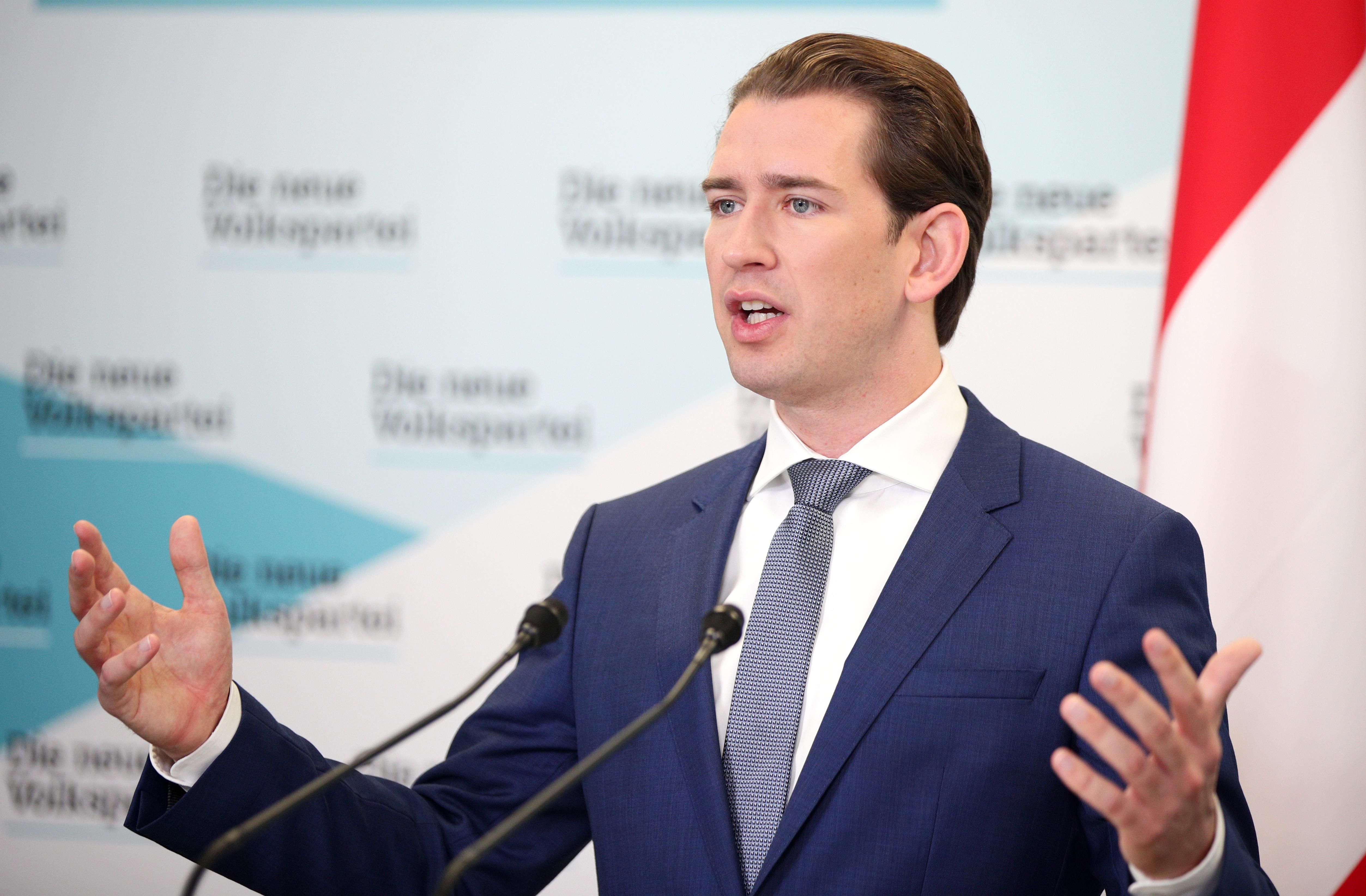 Austrias Sebastian Kurz to hold coalition talks with far