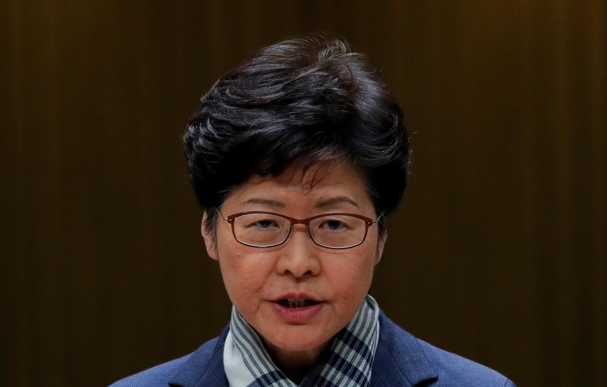 Hong Kong leader says protesters 'paralyzing' the city are selfish