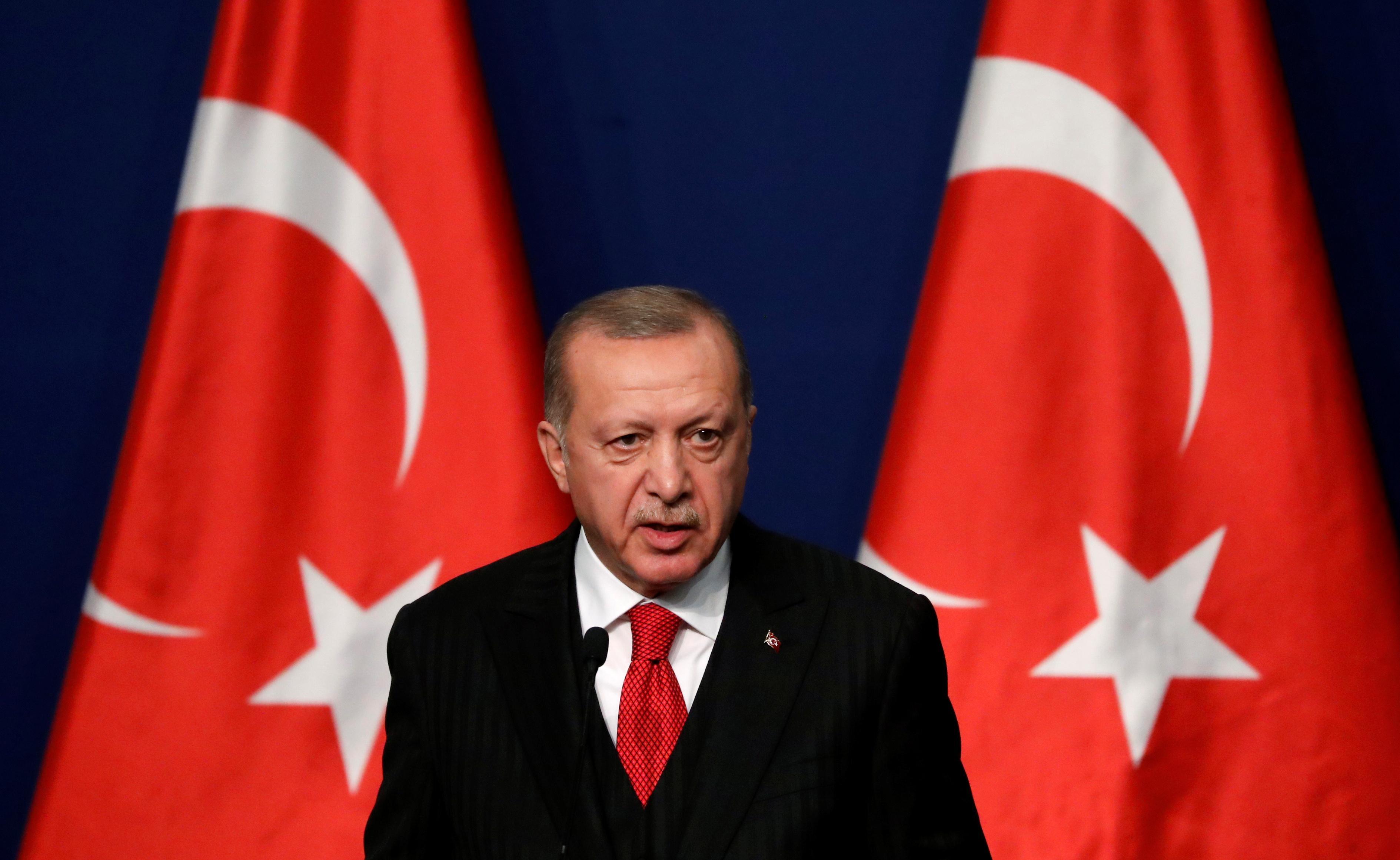Turkey's Erdogan says will tell Trump U.S. failed to keep Syria...