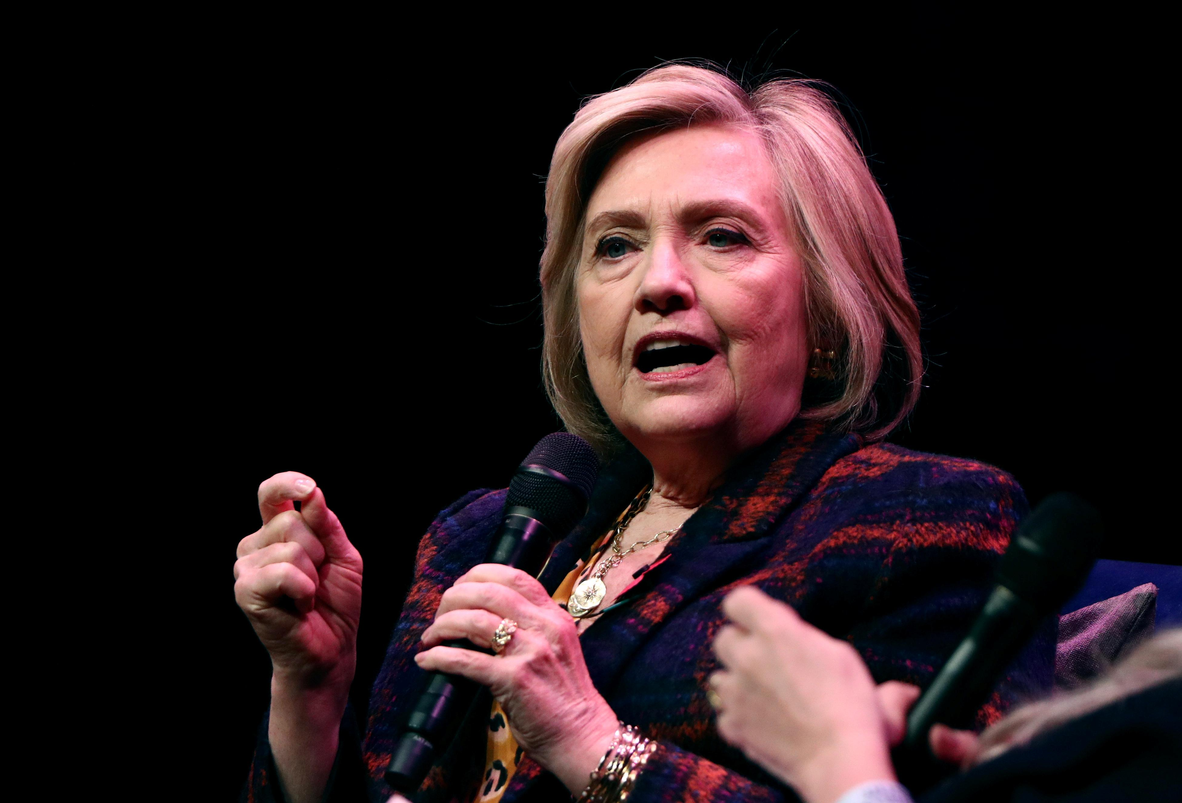Hillary Clinton: 'shameful' of UK not to publish report on Russian...