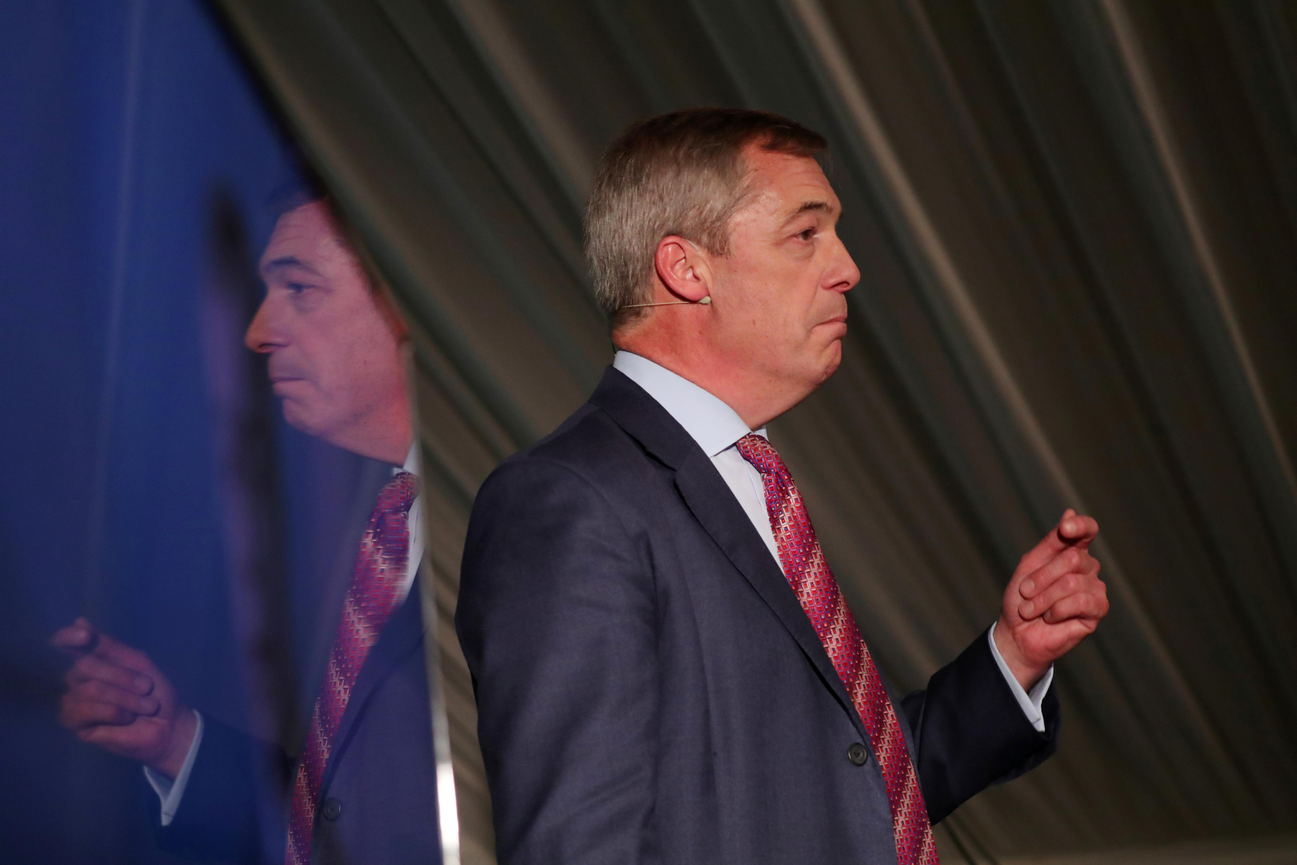 Brexit donor Arron Banks urges Farage to stand down in Labour...