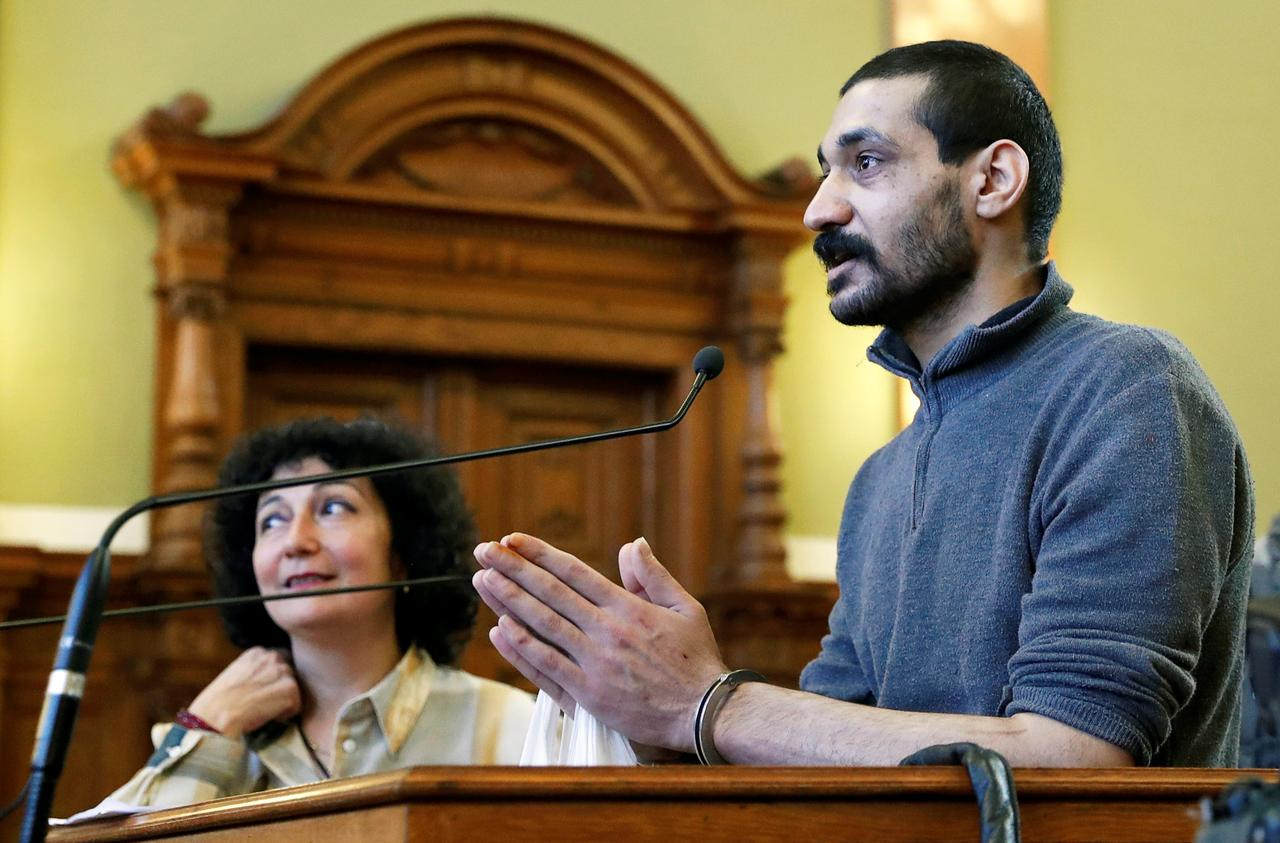 Image result for Hungary begins trial of Syrian man accused of leading IS murder brigade