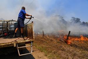 Fires rage across Australia's east coast