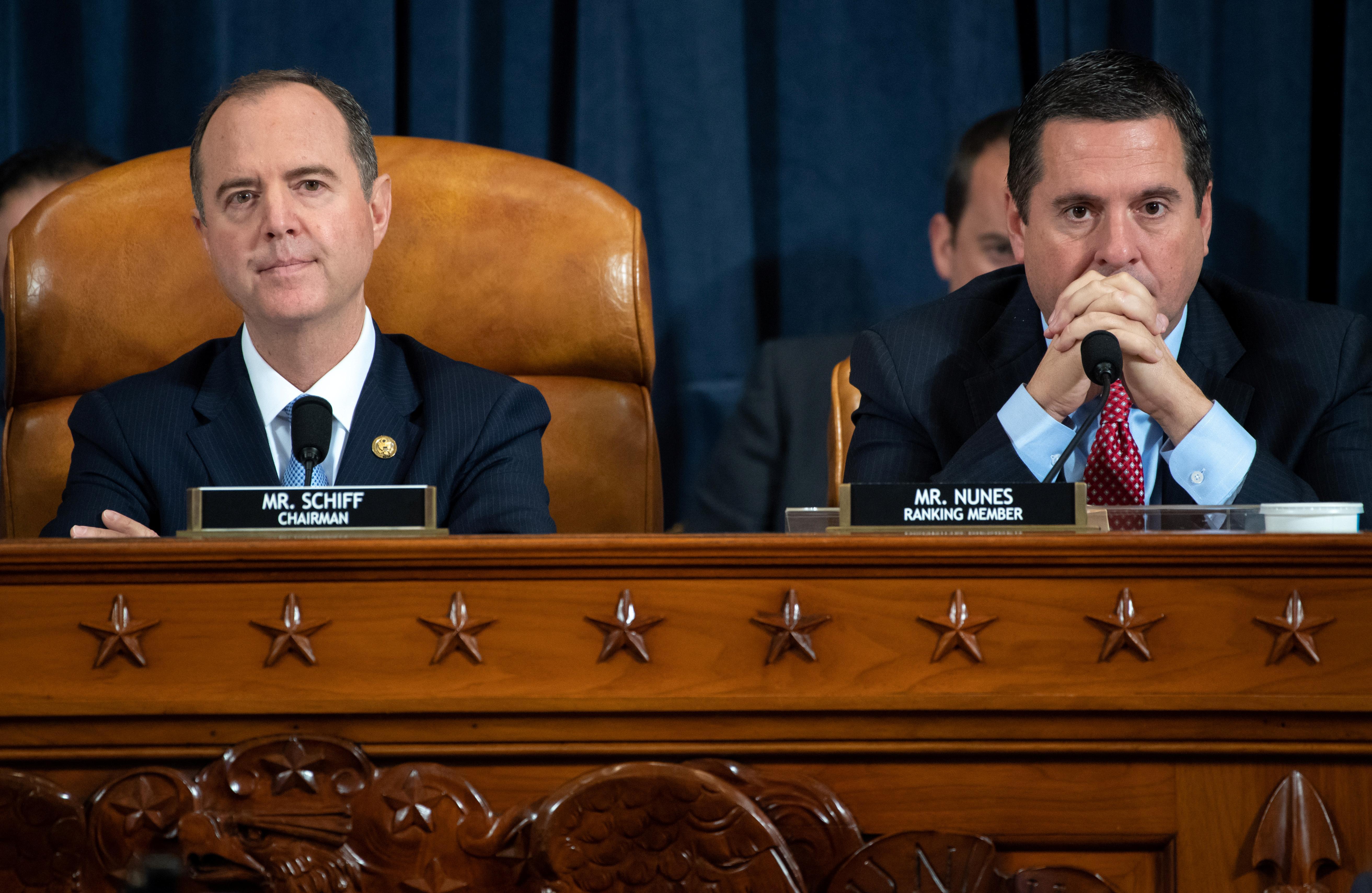 Trump impeachment hearings focus on Ukraine pressure campaign in...
