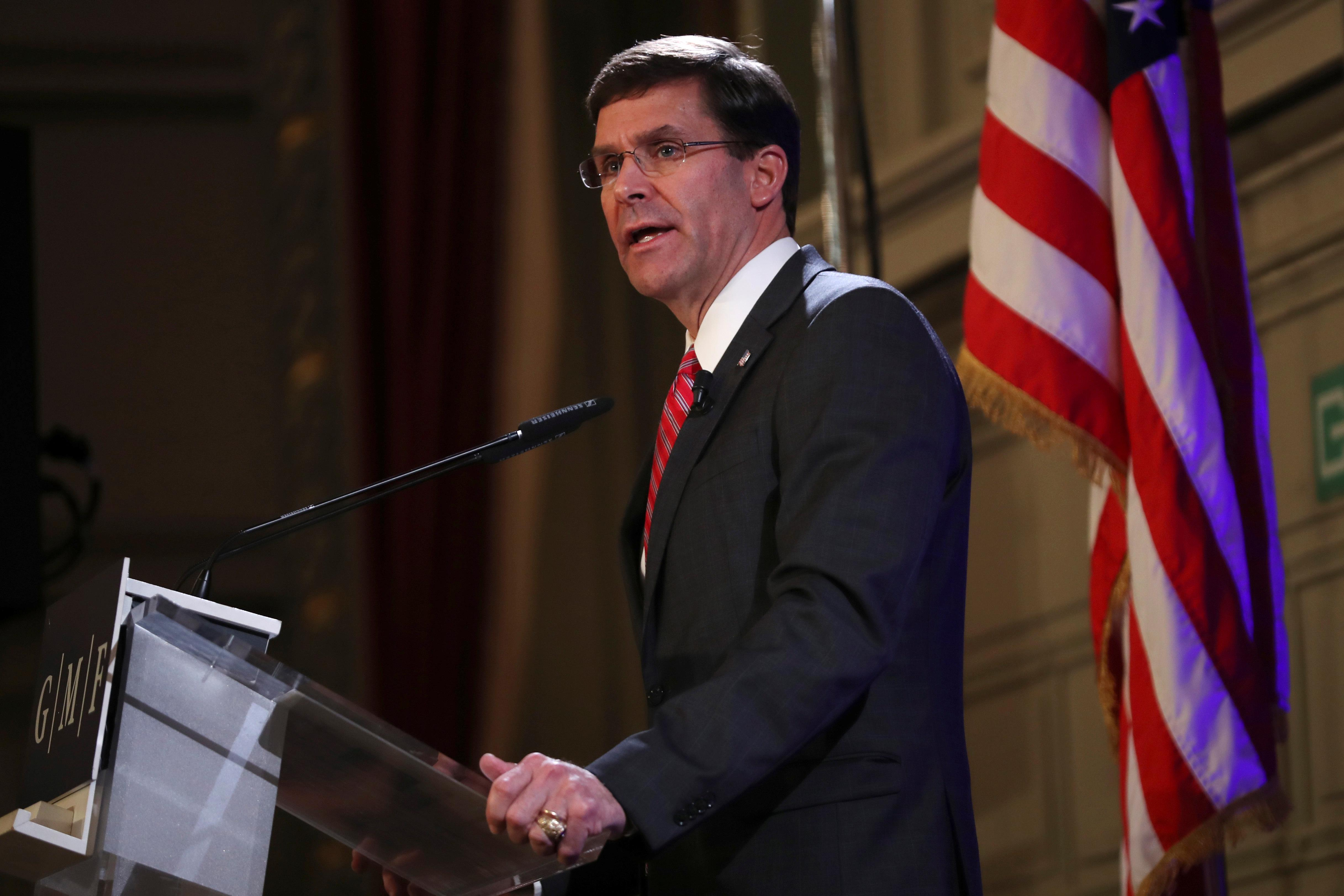 Pentagon chief open to military adjustments to support North Korea...