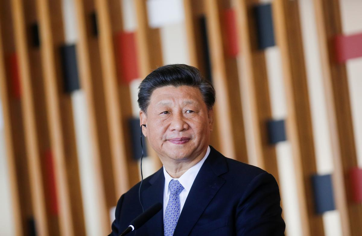 China's Xi says restoring order and stopping violence is most urgent for Hong Kong