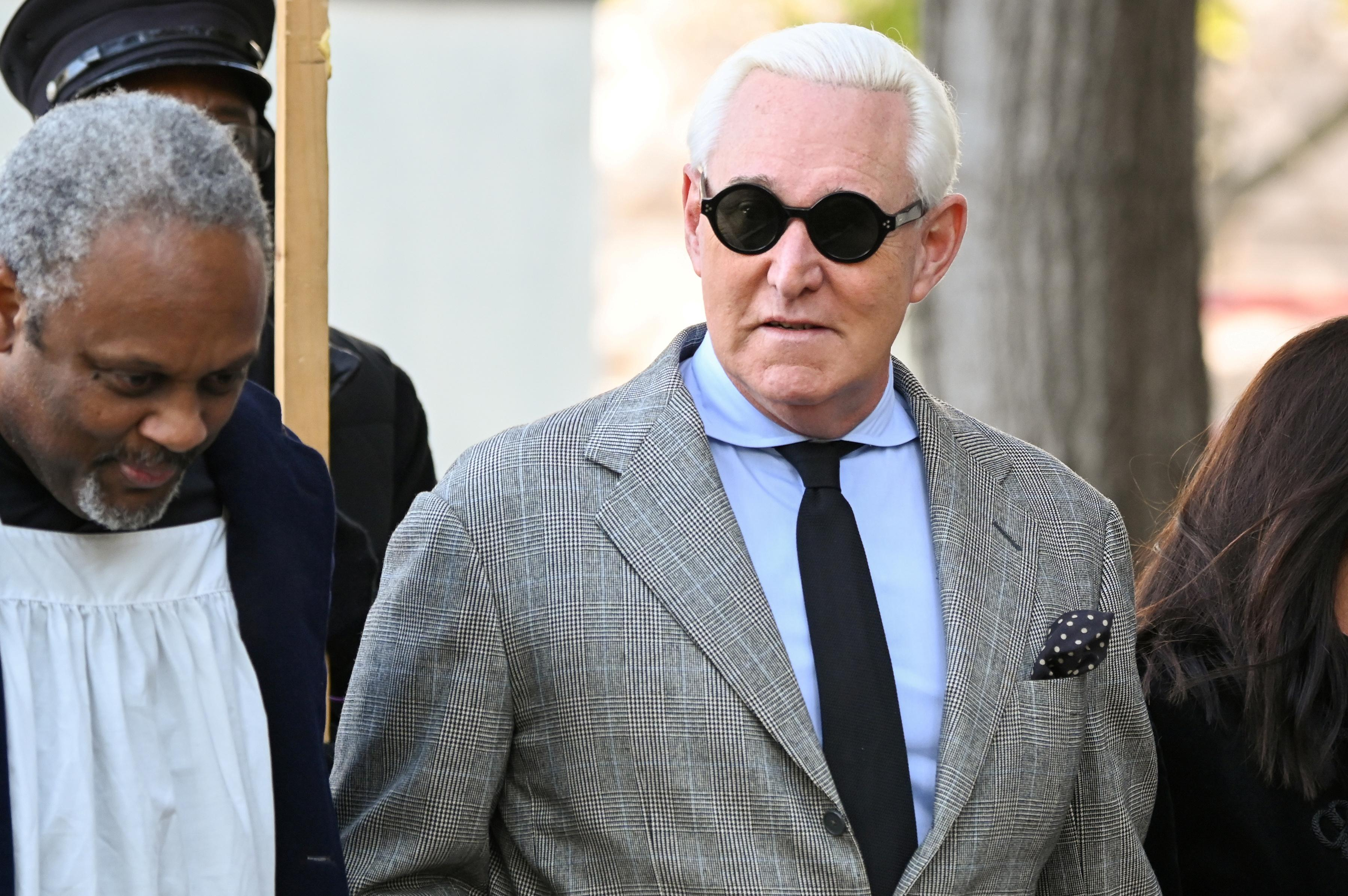Jury in trial of Trump adviser Stone ends first day of...