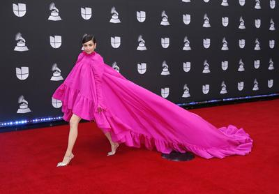 Latin Grammy Awards red carpet