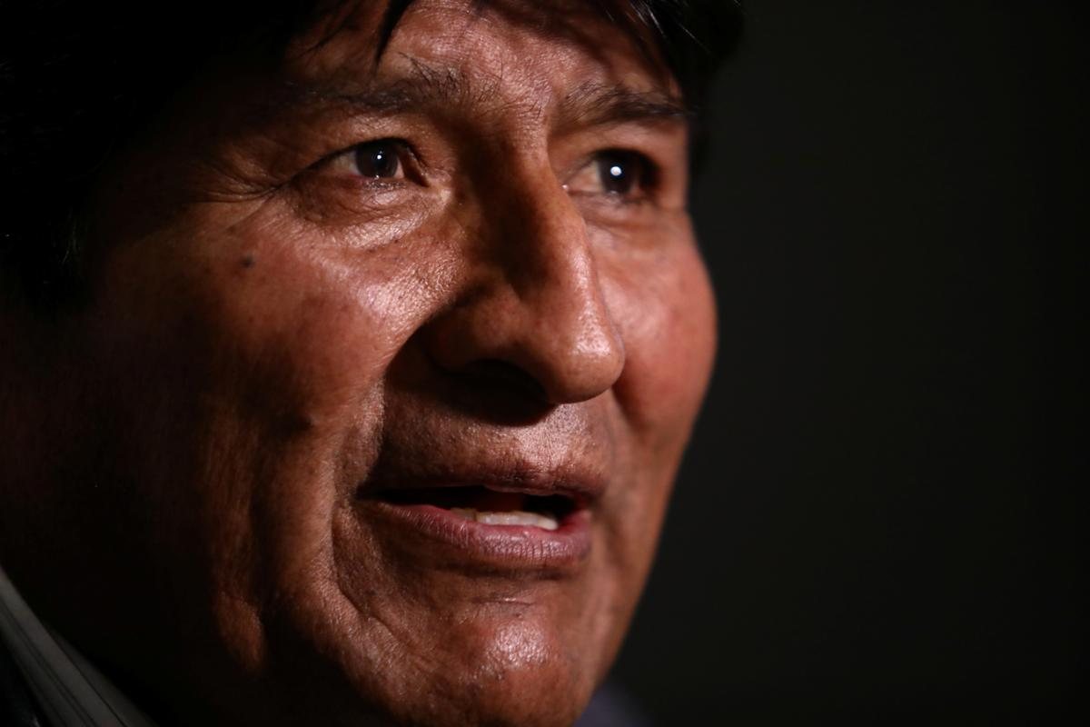 Fallen Bolivian leader Morales: 'No problem' if vote proceeds without me