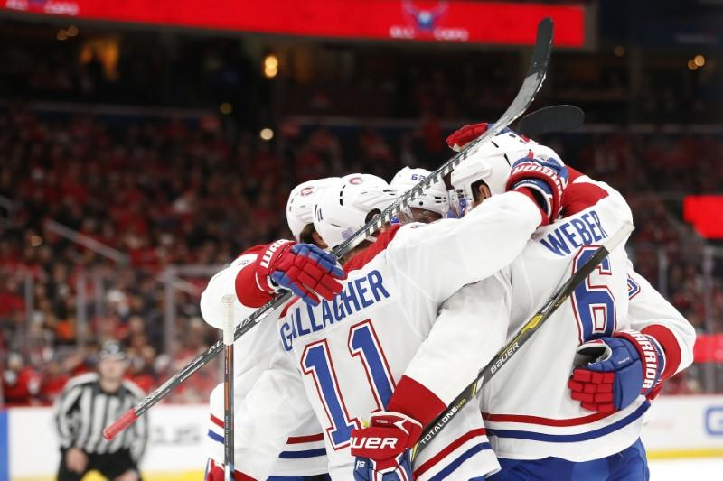 NHL roundup: Habs use 4-goal period to top Caps