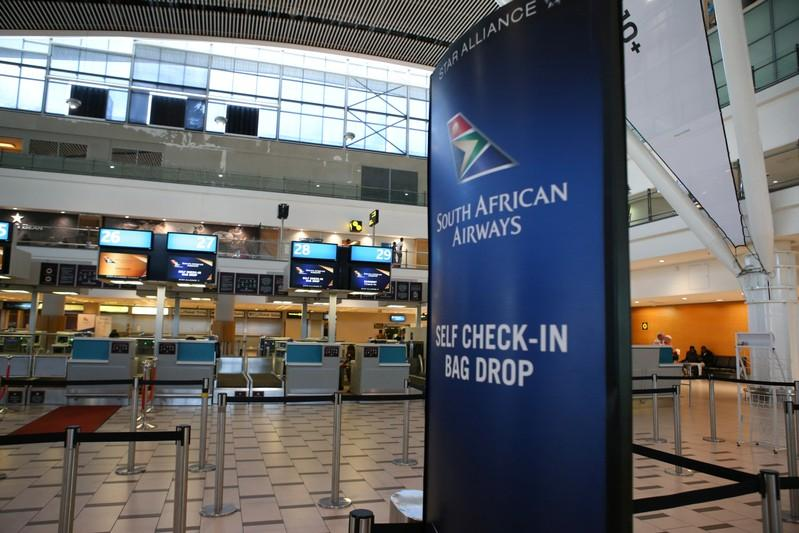 S.African Airways, unions meet for talks amid damaging strike