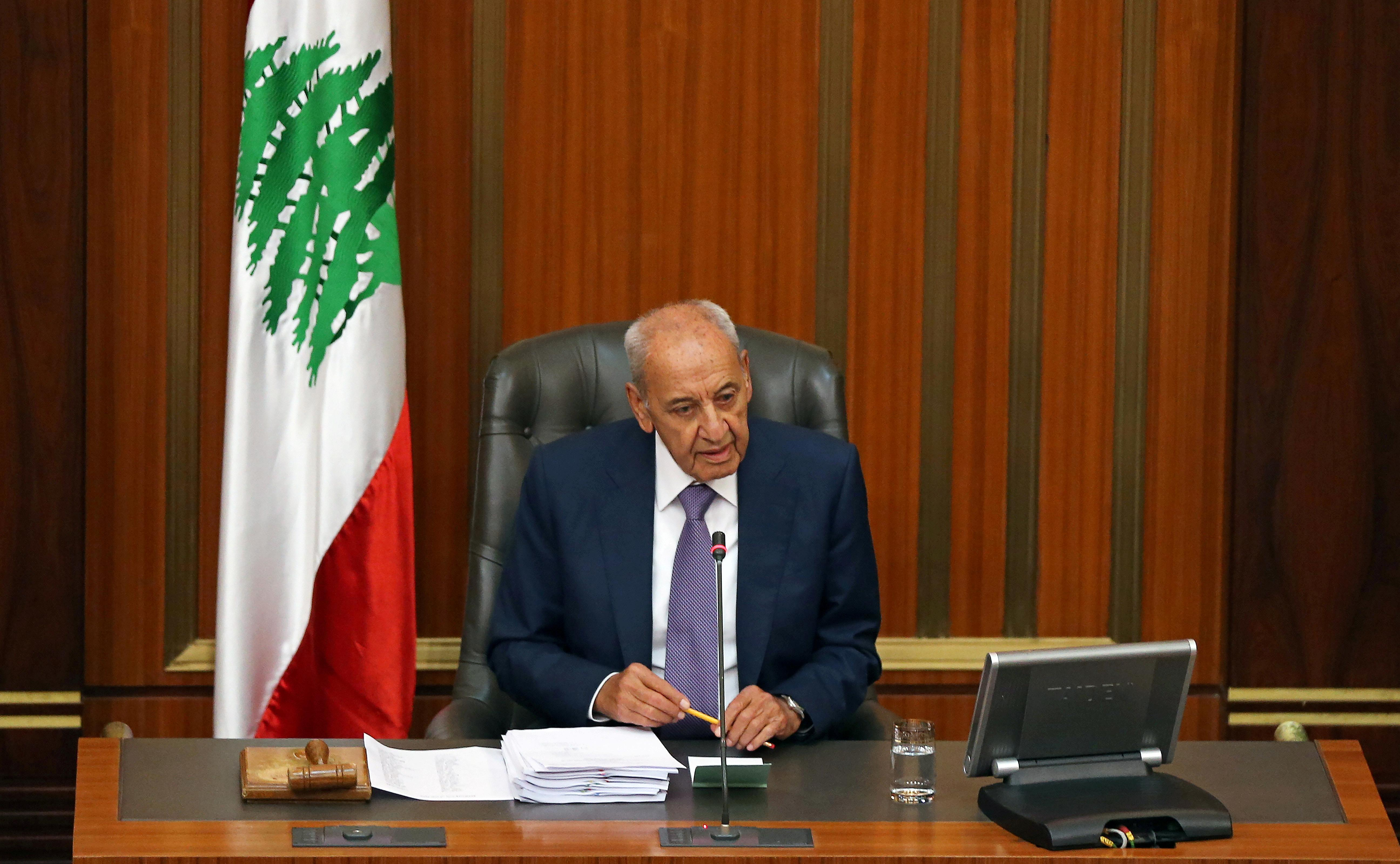 Lebanon's Speaker Berri says situation in Lebanon getting more...